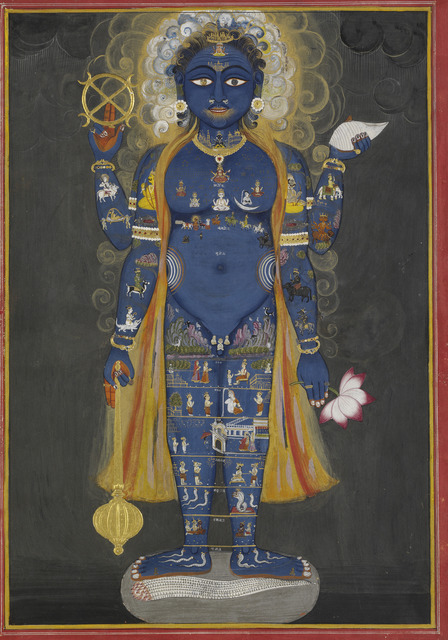 , 'Vishnu Vishvarupa,' 1800-1820, Asian Art Museum