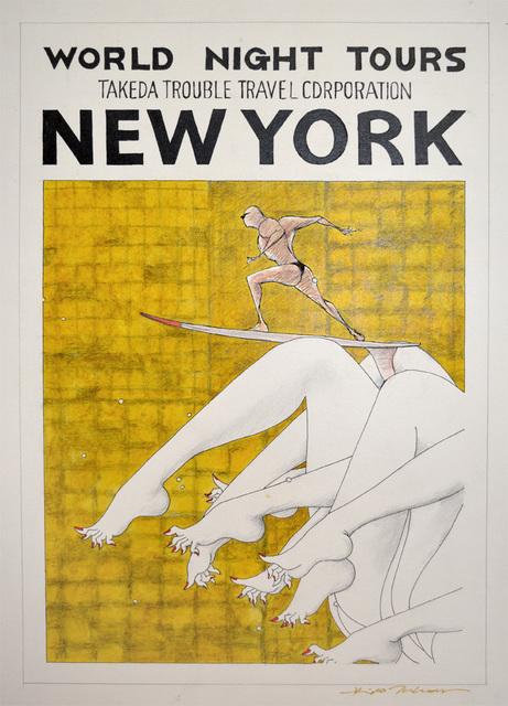 Hideo Takeda, 'New York #2', 2016, Ronin Gallery