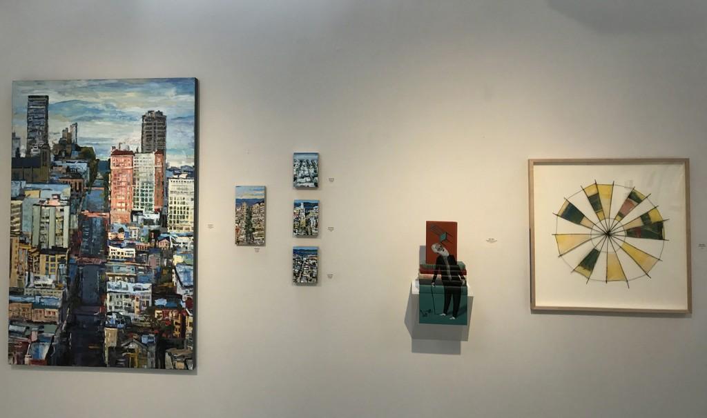 Kim Ford Kitz, Mike Stilkey & Emily Payne in Gallery II