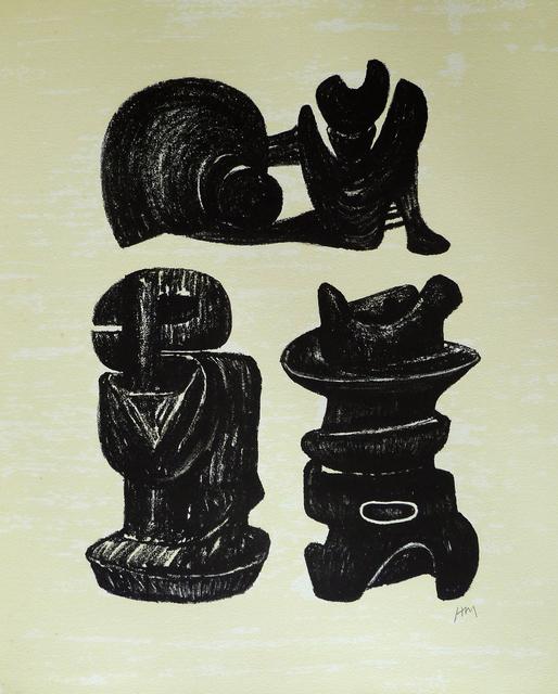 , 'Three Sculptural Forms, from: Poetry | La Poésie,' 1973, Gilden's Art Gallery