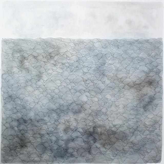 ", 'making waves ""waiting"",' 2015, Galerie du Monde"