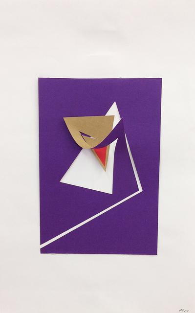 , ' A Revelação do Avesso 12 G - PAPEL MATRIZ (3) N.36,' 2014, Dan Galeria