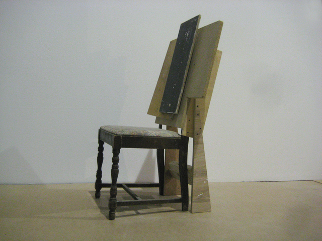 , 'Black back chair,' 2009, Nina Johnson