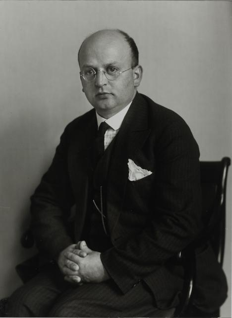 August Sander, 'Music Publisher, c. 1926', Galerie Julian Sander