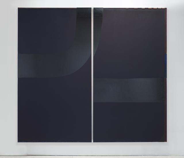 , 'Doubleu (Loop),' 2015, APALAZZOGALLERY