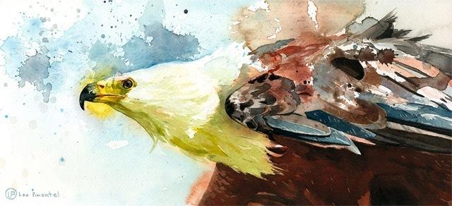 , 'African Fish Bird,' 2018, Spoke Art