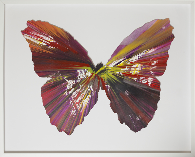 , 'Spin Painting - Butterfly ,' 2009, RUDOLF BUDJA GALLERY