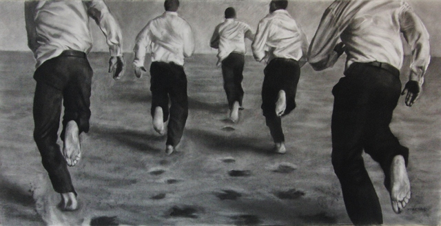 , 'The Chase,' 2016, DECORAZONgallery