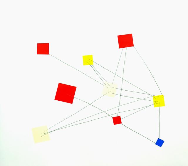 , 'Prototipos de movimiento con props (2),' 2016, Nora Sotres Galeria