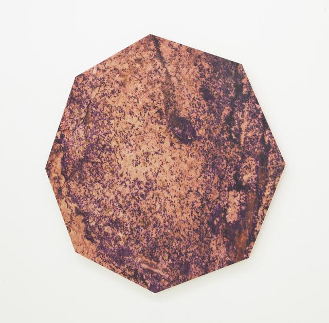 , 'Granite Octagon (Red),' 2012, Nina Johnson