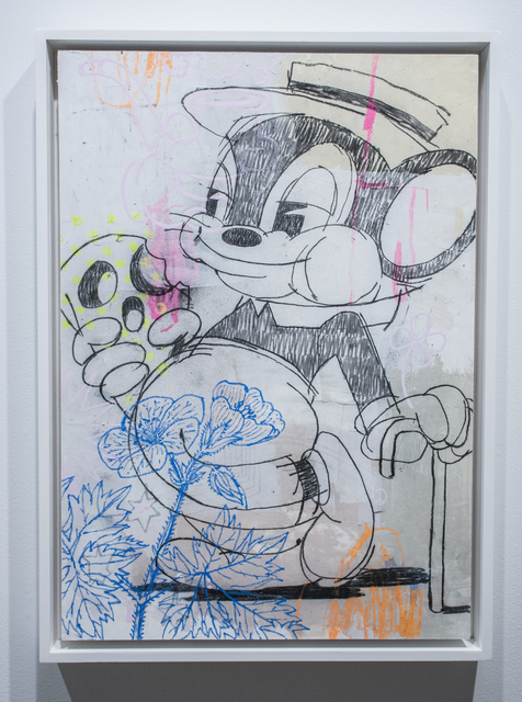 , 'The Deeper Sorrow Carves Into Your Being. The More Joy You Can Contain. – Mouse large,' 2019, Vertical Gallery