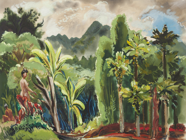 , 'Nudes in Landscape,' 1945, Childs Gallery