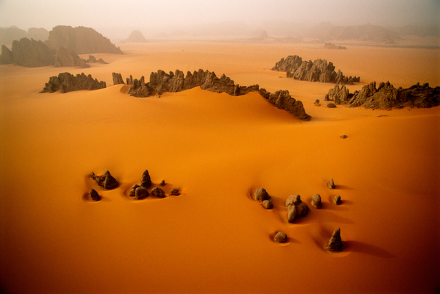 , 'Sandstone Pinnacles, Karnasai Valley, Chad.,' 1998, Anastasia Photo