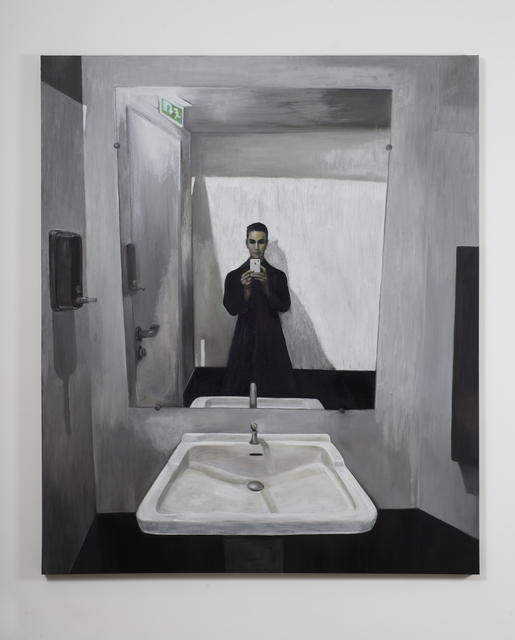 , 'Autorretrato com iPhone 5C,' 2015, Marcelo Guarnieri