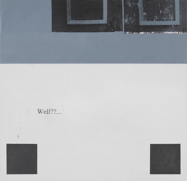 Julião Sarmento, 'Frames Grey Squares', 2013, Galería Joan Prats