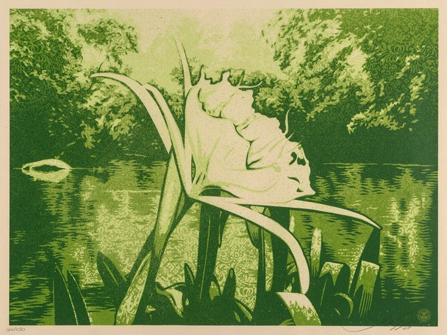 Shepard Fairey, 'Spider Lilly', 2009, Heritage Auctions
