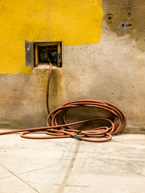 , 'Hose and Yellow Wall, New York,' , Soho Photo Gallery