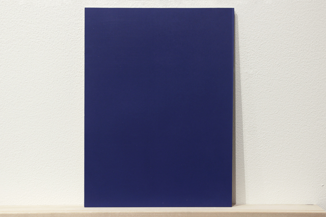 ", 'Formalizing their concept: Sherrie Levine's ""Blue and Gray Monochromes After Stieglitz: 1-36"",' 2018, Josée Bienvenu"
