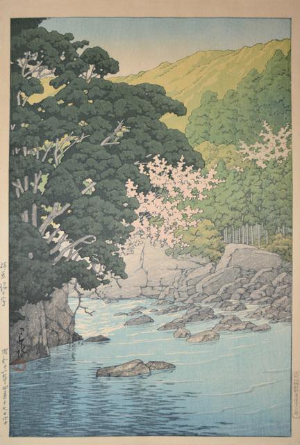 , 'Yugashima in Izu,' 1936, Ronin Gallery