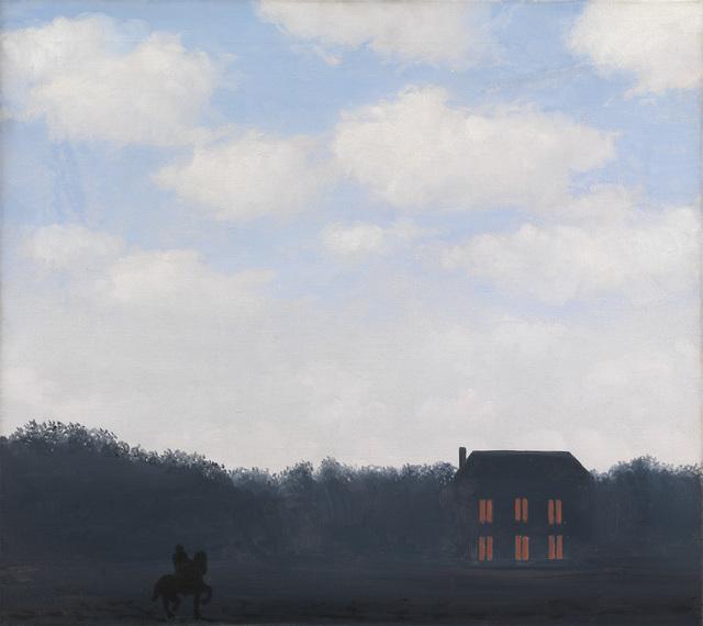 , 'Landscape with Rider (L'Empire des Lumieres),' 1967, Osborne Samuel