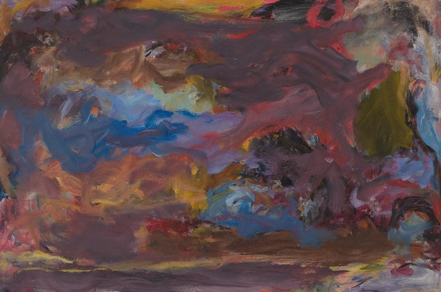 Jon Schueler, '(o/c 68-19) Rhythmic Response', 1967-1968, Painting, Oil on canvas, Anita Shapolsky Gallery