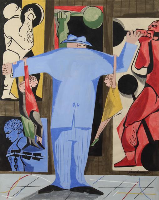 , 'Strong Man,' 1951, Alexandre Gallery