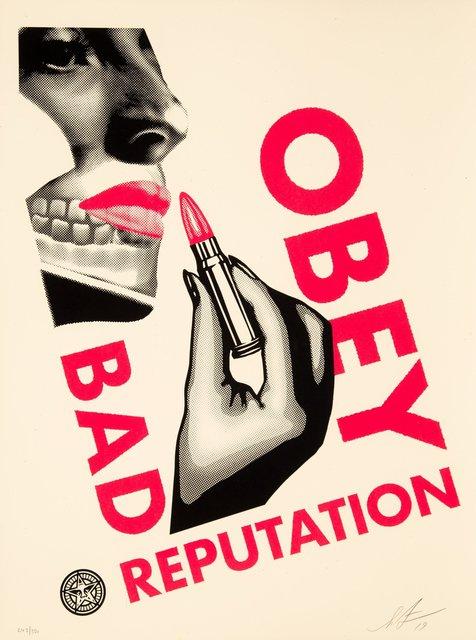 Shepard Fairey, 'Bad Reputation (Cream)', 2019, Heritage Auctions