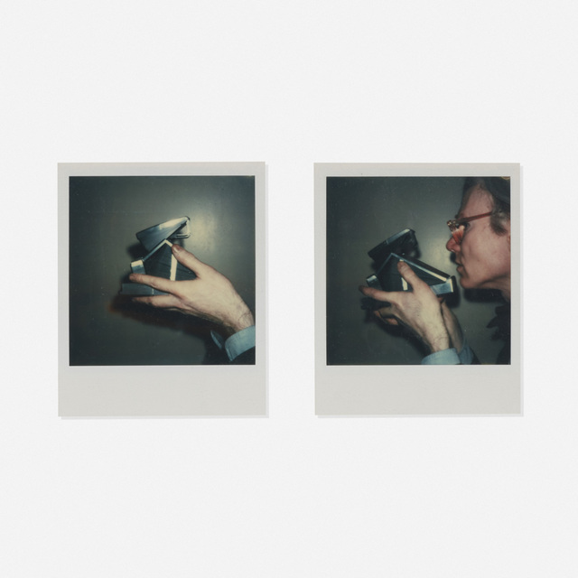 Andy Warhol, 'Self-portrait with camera (diptych)', c. 1973, Wright