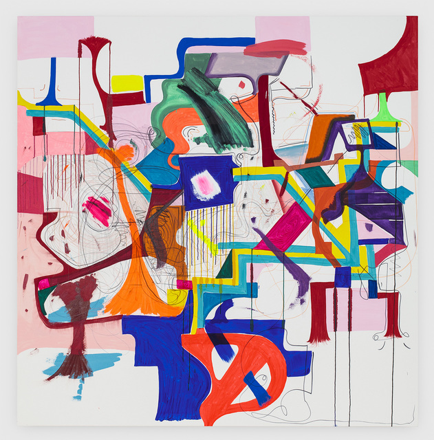 Joanne Greenbaum, 'Untitled', 2016, Lehmann Maupin