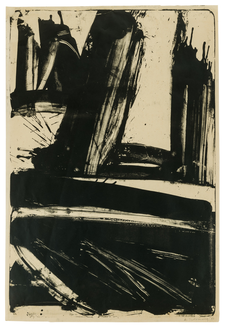 , 'Litho #1 (Waves #1),' 1960, Susan Sheehan Gallery