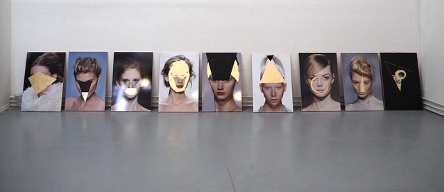 , 'Studi di testa (Demoiselles),' 2016, Lucia Mendoza
