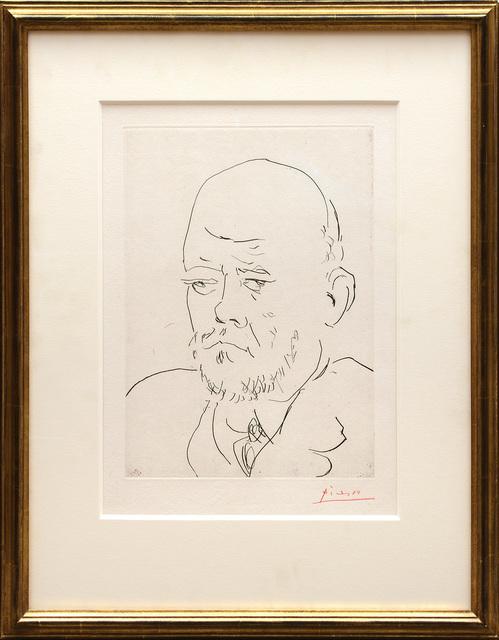 , 'Portrait de Vollard III,' 1937, Peter Harrington Gallery