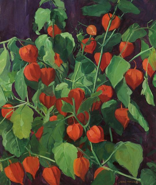 , 'Japanese Lanterns,' Add Artwork year, Debra Force Fine Art