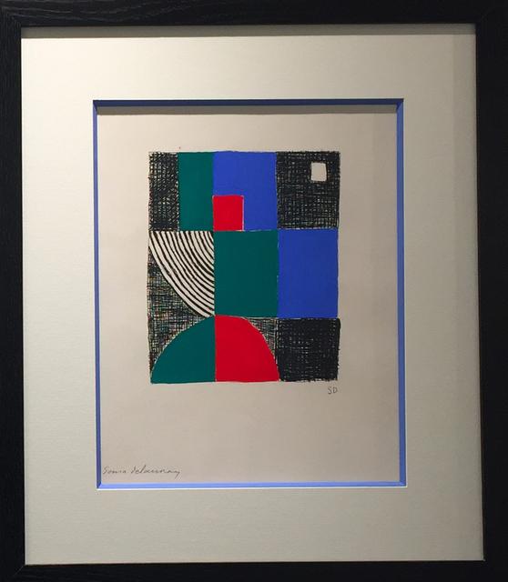, 'Juste présent,' 1961, Galerie Calderone