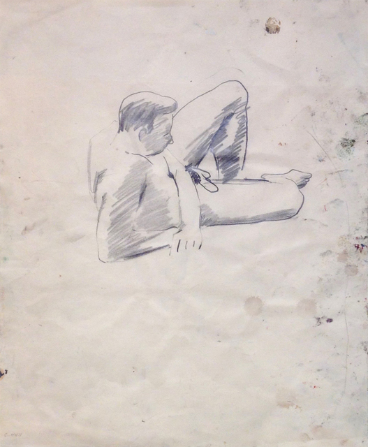 , 'Untitled (male study),' 1955, Brian Gross Fine Art