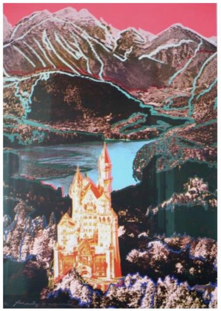 Andy Warhol, 'Neuschwanstein, F & S II.372', 1987, Print, Color screenprint, Elizabeth Clement Fine Art