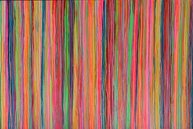 ", '""Stripe"" Series No. 130,' 2018, Z Contemporary"