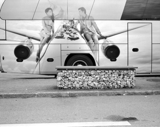 , 'Vienna airport bus stop/ Jet Lag,' , °CLAIRbyKahn Galerie