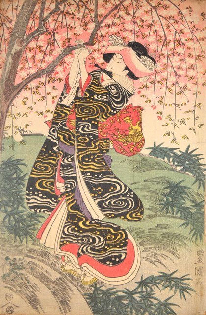Utagawa Toyokuni I, 'Spring Time', ca. 1805, Ronin Gallery