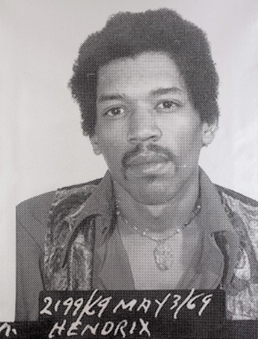 , ''Jimi Hendrix',' , ZK Gallery