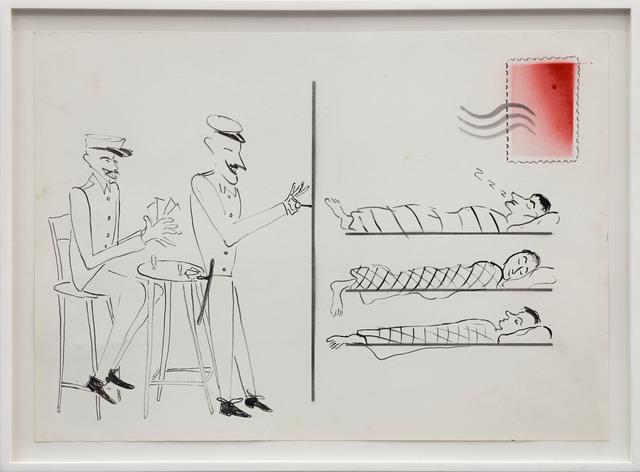 , 'Postcard,' 2013, Dawid Radziszewski