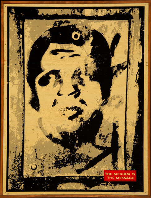 Shepard Fairey, 'Untitled (The Medium is the Message)', 2001, Heritage Auctions