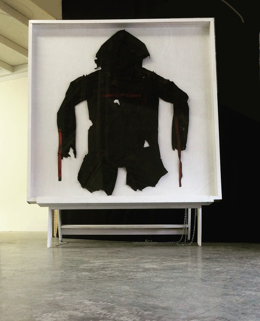 , 'Burn Suit,' 2015, Robert Kananaj Gallery