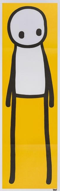 Stik, 'Standing Figure (Yellow)', 2015, Forum Auctions