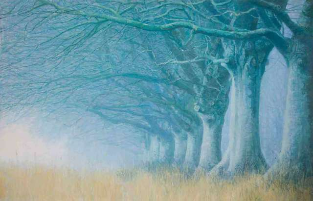 , 'Beeches in the Mist,' 2018, Catto Gallery