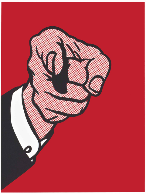 , 'Finger Pointing (Corlett 126),' 1973, Joseph K. Levene Fine Art, Ltd.