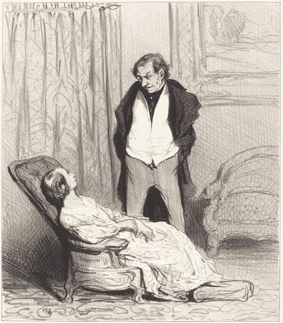 Honoré Daumier, 'Carotte de l'écrin', 1844, National Gallery of Art, Washington, D.C.