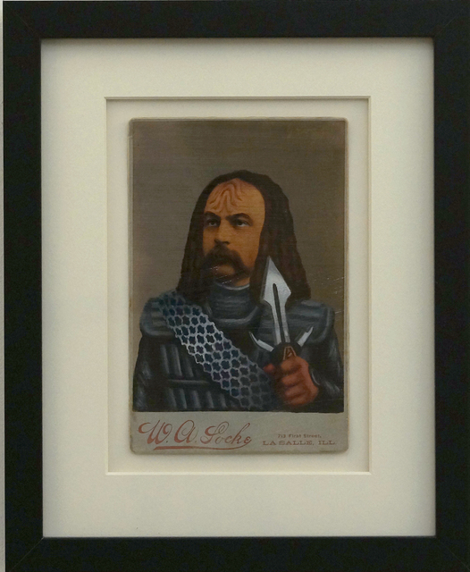 , 'untitled (Klingon),' 2011, Richard Levy Gallery