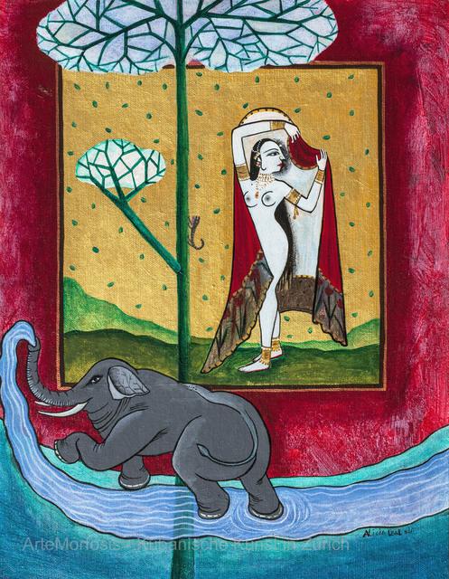 , 'Quién conquistará el corazón de la bella mujer? / Who will Conquer the Heart of the Beautiful Woman?,' 2011, ArteMorfosis - Galería de Arte Cubano