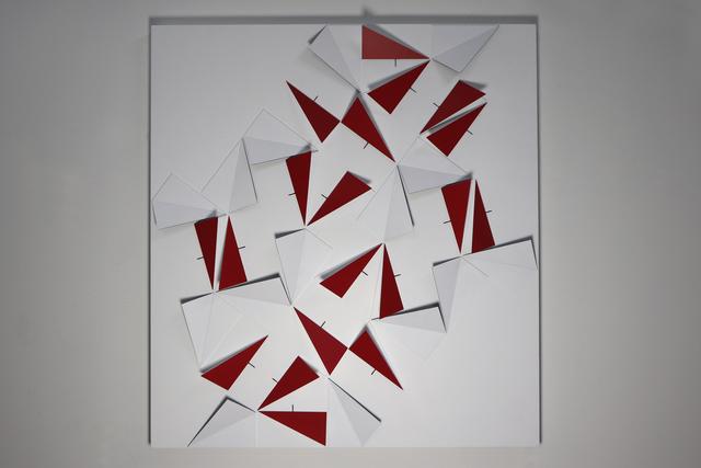 , 'origamiPenrose, 19 Triangles x 15 Kites,' 2018, Dan Galeria